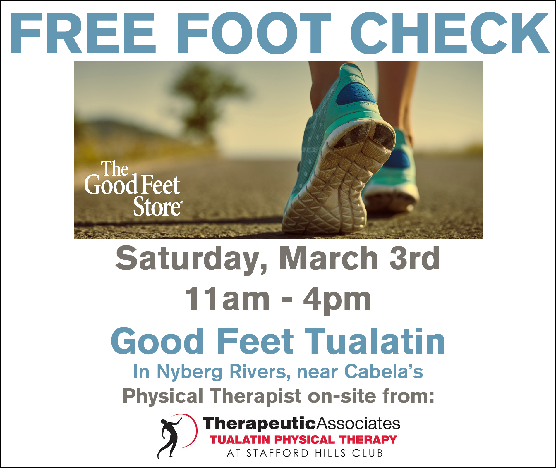 Free Foot Check this March!